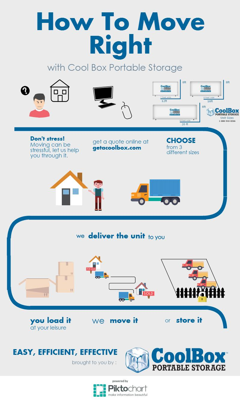 What is Portable Storage Infographic