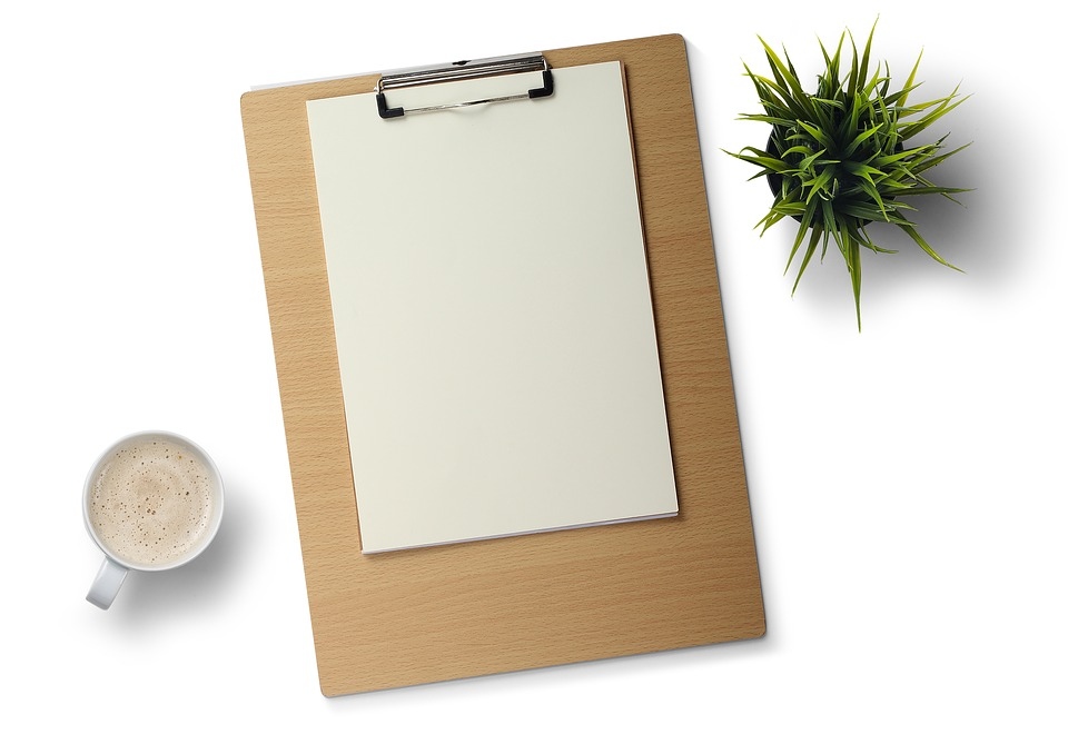 note pad desk